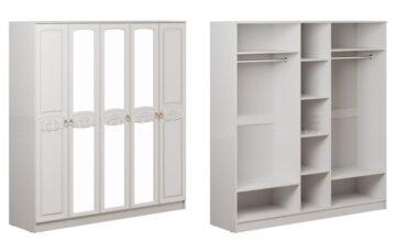 Шкафы 5-дверные
